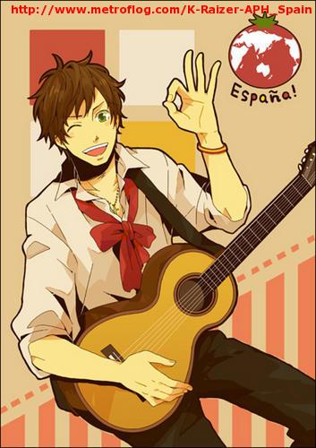 Antonio con su guitarra!