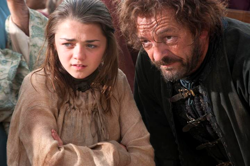 Arya Stark and Yoren