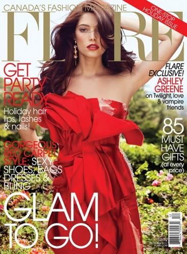 Ashley Greene - Flare Magazine