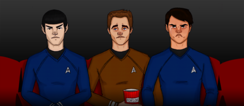 At the movies - star-trek-2009 Fan Art