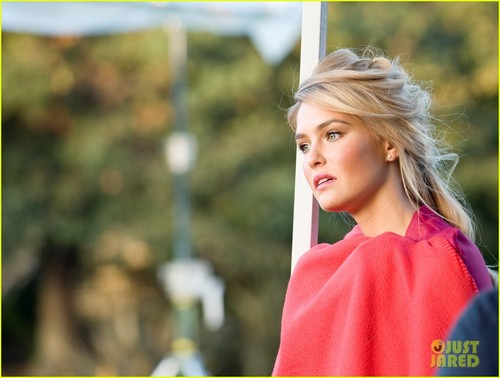 Bar Refaeli: 'Especially Escada' Behind the Scenes Pics!