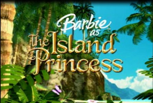 búp bê barbie as the Island Princess