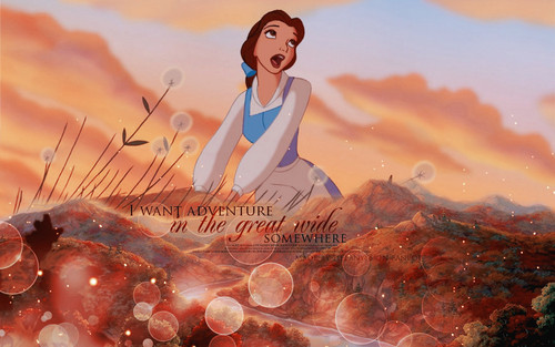 Belle ~ ♥ - disney-princess Wallpaper