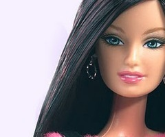 Black Haired Barbie