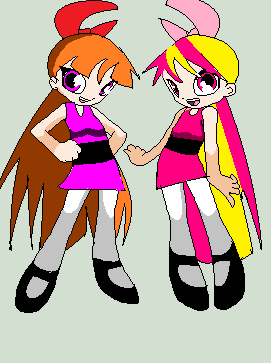 Blossom and Britney