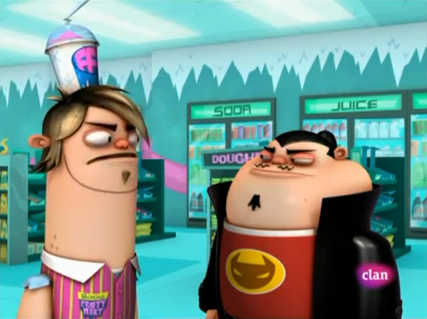Fanboy and Chum Chum Club fond d'écran called Boog and Oz