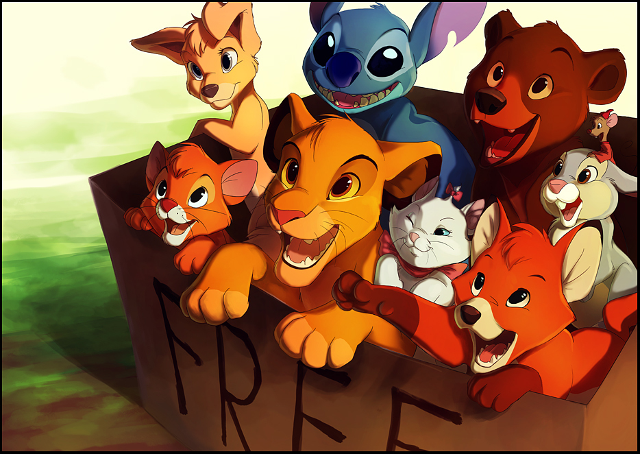 Box of disney cuteness - Walt Disney Characters Fan Art ...