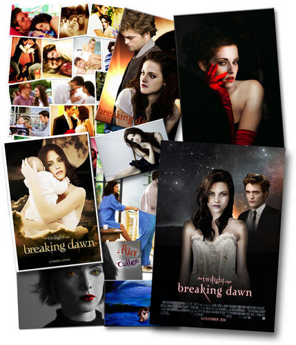 Breaking Dawn The Movie wallpaper containing anime called Breaking Dawn