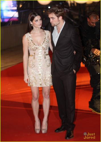 Breaking Dawn premiere in Brussels