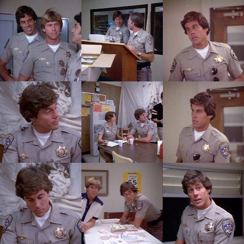 Brodie Greer as Barry Baricza in CHiPs Down Time