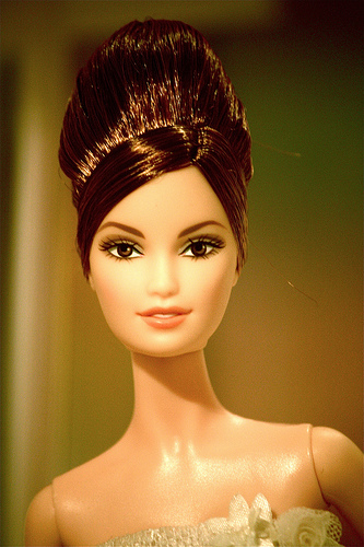 Brown Haired Barbie <3