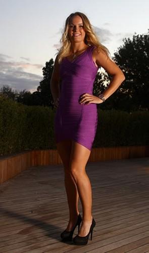 Caroline Wozniacki pregnant look