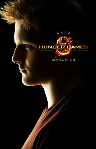 The Hunger Games Movie wallpaper probably containing sunglasses entitled Cato Poster