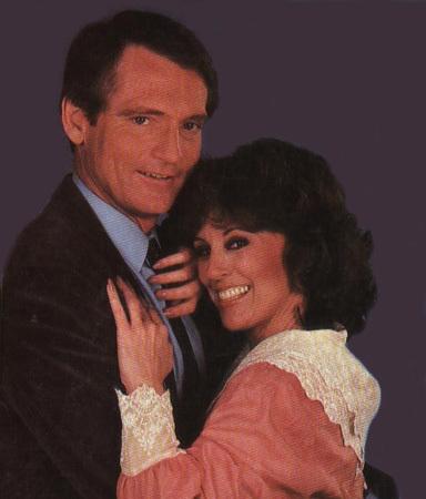 Chris Robinson and Denise Alexander