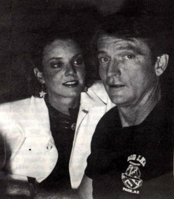 Chris Robinson and Judith Chapman