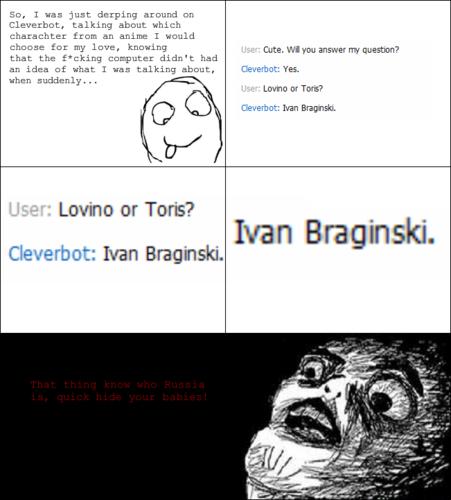 Cleverbot - Hetalia