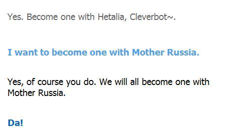 Cleverbot... o.o