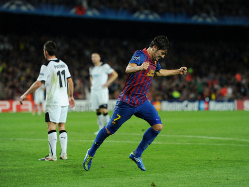 D. Villa (Barcelona - Viktoria Plzen) - david-villa Photo