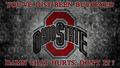 DAMN THAT HURTS - ohio-state-university-basketball wallpaper