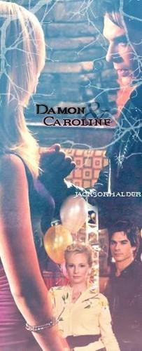 Damon/Caroline :)