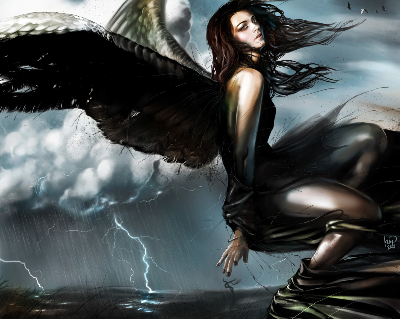 Dark Gothic Pictures of Angels http://www.chickensmoothie.com/Forum/viewtopic.php?t=1559648