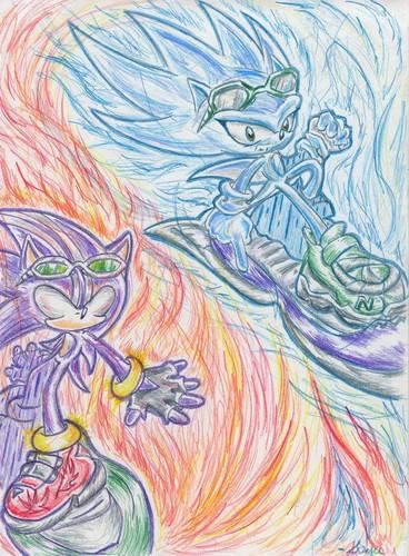 DarkSpine Sonic and Nazo