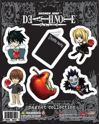 Death Note Magnets