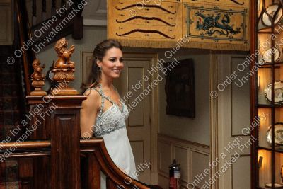 Duchess Catherine hosting a private charity avondeten, diner at Clarence House.