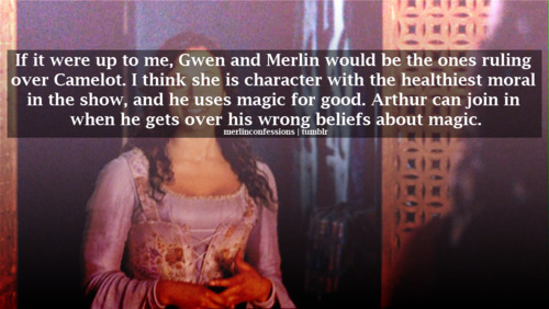 Faints...Faints...A Merlin Confession I Agree with...naaaaaah not possible