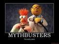 First mythbusters - mythbusters photo