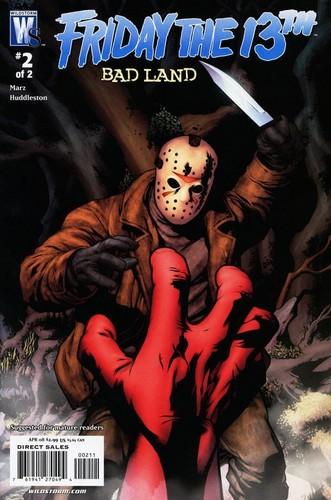 Friday the 13th Badland Comics