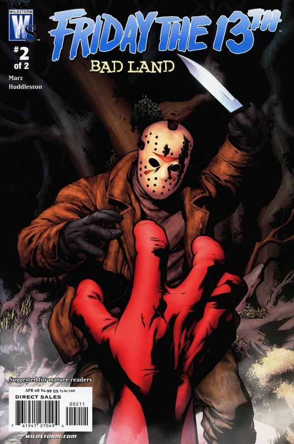 Friday the 13th Badland Comics