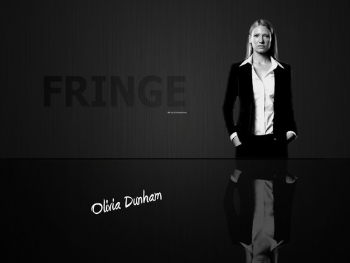 Fringe wallpaper with a business suit, a well dressed person, and a suit entitled Fringe / Olivia Dunham