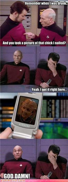 Star Trek-The Next Generation Funny stuff!