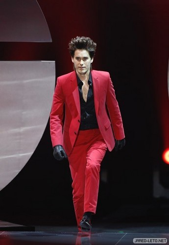 Jared Leto wallpaper containing a business suit and a suit called GQ Men Of The Year 2011 Awards - Berlin - 28 Oct 2011