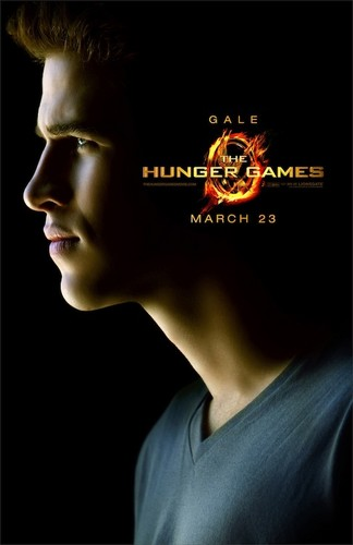 Gale Hunger Games Poster