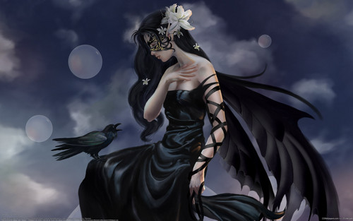 Gothic wallpaper entitled Gothic Dark Angel