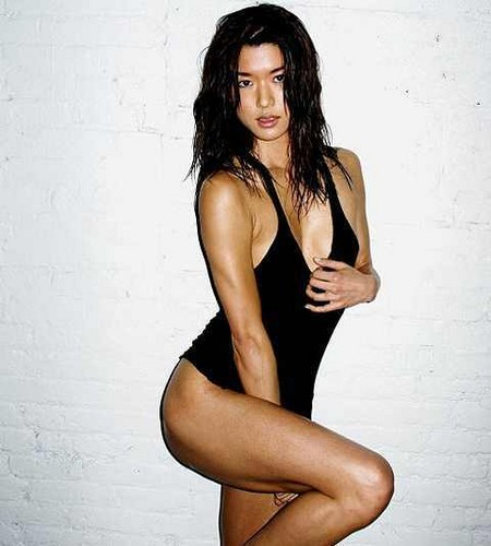Grace Park wallpaper possibly containing a maillot and a swimsuit titled Grace <33