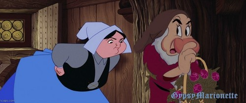 Crossover Disney wallpaper called Grumpy and Merryweather