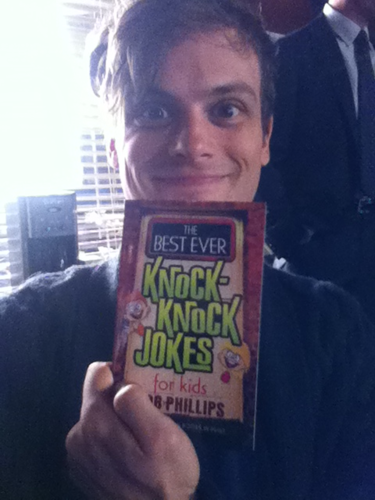 Gube & His Joke Book