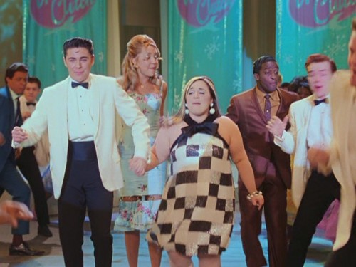 Musical Films wallpaper probably with a business suit entitled Hairspray (2007)
