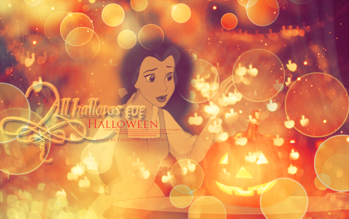 Halloween Princess ~ ♥ - disney-princess Wallpaper
