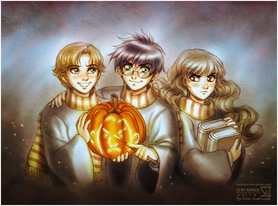 Harry Potter Happy Halloween