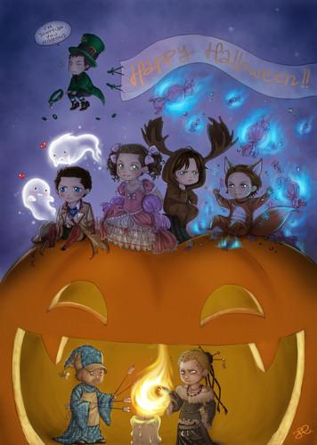 Happy supernatural halloween ~ Méstaeo'o Tsé'ôhketóxeohtsévôse