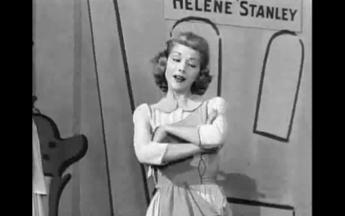 Helene Stanley Live Action Of cinderella Also For Aurora