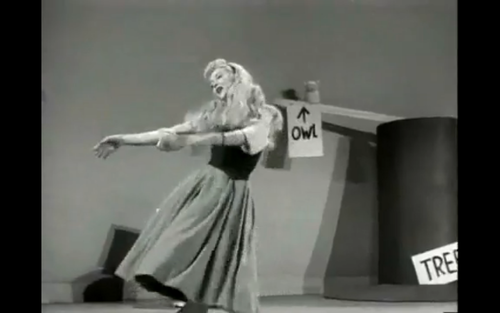 Helene Stanley (Live Action Of Princess Aurora Also Live Action Of Cinderella)