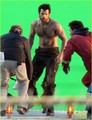 Henry Cavill: 'Man of Steel' Green Screen Scenes! - henry-cavill photo