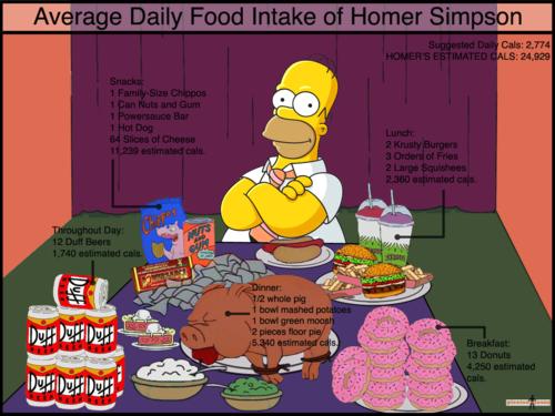 Homer's chakula