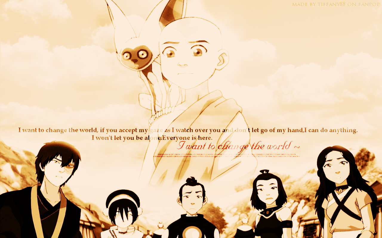 Avatar The Last Airbender Images I Want To Change World HD Wallpaper And Background Photos