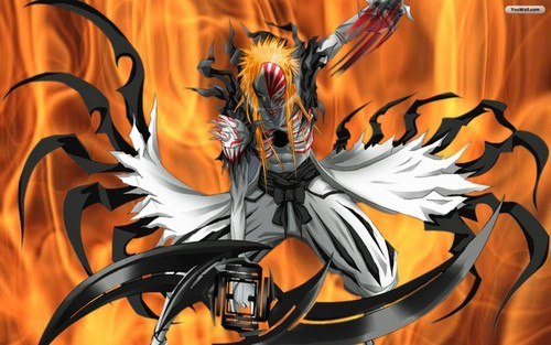 Bleach anime achtergrond possibly with anime called Ichigo's Hollow Form